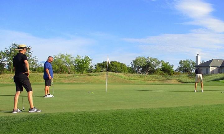 slow pace golf in corpus christi tx